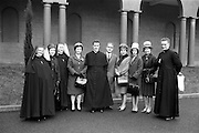14/03/1964<br /> 03/14/1964<br /> 14 March 1964<br /> Ordination of Fr. Donal Sullivan at Holy Cross College (Clonliffe College), Clonliffe Road, Drumcondra, Dublin. Picture shows Fr. Donal Sullivan, C.M., Kenilworth, Ballinacurra, Co. Limerick, (centre) with his family after the ordination ceremony.