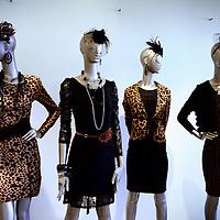 Nederland, Amsterdam , 21 februari 2011..Modepoppen met kleding van het modemerk Juffrouw Jansen..Foto:Jean-Pierre Jans