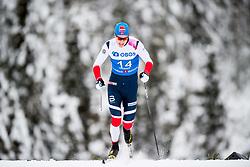 January 11, 2018 - GSbu, NORWAY - 180111 Torstein Bu competes in the men's sprint classic technique qualification during the Norwegian Championship on January 11, 2018 in GÅ'sbu..Photo: Jon Olav Nesvold / BILDBYRN / kod JE / 160127 (Credit Image: © Jon Olav Nesvold/Bildbyran via ZUMA Wire)
