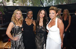 Pop group THE SUGABABES and CHARLOTTE CHURCH at the 2006 Glamour Women of the Year Awards 2006 held in Berkeley Square Gardens, London W1 on 6th June 2006.<br /><br />NON EXCLUSIVE - WORLD RIGHTS
