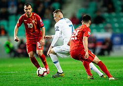 Josip Iličić of Slovenia during football match between National teams of Slovenia and North Macedonia in Group G of UEFA Euro 2020 qualifications, on March 24, 2019 in SRC Stozice, Ljubljana, Slovenia. Photo by Vid Ponikvar / Sportida