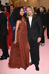 Zoe Saldana and Marco Peregoi attend The 2019 Met Gala Celebrating Camp: Notes on Fashion at Metropolitan Museum of Art on May 06, 2019 in New York City.<br /> Photo by ABACAPRESS.COM
