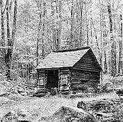 Corn Crib, Ephraim Bale's Place, Appalachia