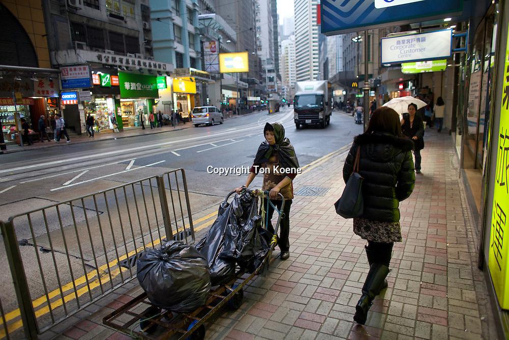 poverty in Hongkong
