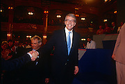 British Prime Minister, John Major shakes hands with supporters after his speech at the Conservative party conference on 11th October 1991 in Blackpool, England.