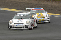 2009 Porsche Carrera Cup Great Britain.  Knockhill, Scotland, United Kingdom.  15th-16th August 2009.  (68) - Tommy Dreelan - Celtic Speed.  World Copyright: Peter Taylor/PSP. Copy of publication required for printed pictures. Every used picture is fee-liable.