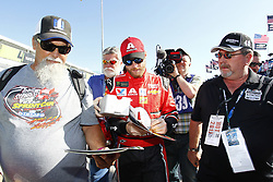 November 18, 2017 - Homestead, Florida, United States of America - November 18, 2017 - Homestead, Florida, USA: Dale Earnhardt Jr. (88) hangs out in the garage prior to practice for Ford EcoBoost 400 at Homestead-Miami Speedway in Homestead, Florida. (Credit Image: © Justin R. Noe Asp Inc/ASP via ZUMA Wire)