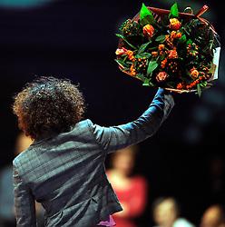 14-11-2009 JUDO: NK JUDO DAMES: ROTTERDAM <br /> Deborah Gravenstijn werd bedankt voor haar prachtige carrierre<br /> ©2009-WWW.FOTOHOOGENDOORN.NL