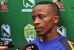 Cape Town--180329 Cape Town City midfielder Thabo Nodada talking about his approach for their Nedbank Cup game against Sundowns on sunday  .Photographer;Phando Jikelo/African News Agency/ANA