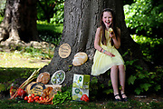 Roisin Canning, (9) whose parents Bernie and Graham of Blast and Wilde, Slane County Meath were Supreme Champions for their butter in 2014 pictured at the launch of the Blas na h-Eireann / Irish Food Awards which will take place in Dingle, Kerry.<br /> Picture by Don MacMonagle -macmonagle.com