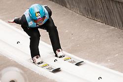 February 7, 2019 - Ljubno, Savinjska, Slovenia - Lidiia Iakovleva of Russia competes on qualification day of the FIS Ski Jumping World Cup Ladies Ljubno on February 7, 2019 in Ljubno, Slovenia. (Credit Image: © Rok Rakun/Pacific Press via ZUMA Wire)