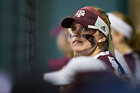 Boston College vs. Texas A&M in a NCAA softball game Feb. 9th, 2018, in College Station, Texas.