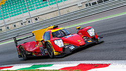 RACING ENGINEERING LMP2 team (drivers Olivier PLA, Norman NATO and Paul PETIT) taken here at Parabolica fast turn during last laps of ELMS 4 hours of Monza 2018.