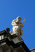 Statue representing Faith, atop the church of Saint Blaise (Sveti Vlaho), Dubrovnik old town, Croatia
