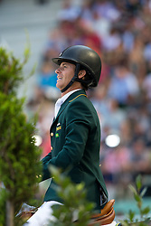 Pedro Veniss, (BRA), Quabri De L Isle - World Champions, - Second Round Team Competition - Alltech FEI World Equestrian Games™ 2014 - Normandy, France.<br /> © Hippo Foto Team - Leanjo De Koster<br /> 25/06/14