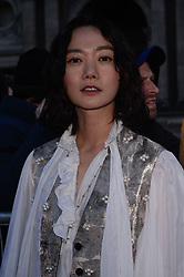Doona Bae arriving at the Louis Vuitton show as part of the Paris Fashion Week Womenswear Fall/Winter 2018/2019 in Paris, France on March 6, 2018. Photo by Julien Reynaud/APS-Medias/ABACAPRESS.COM