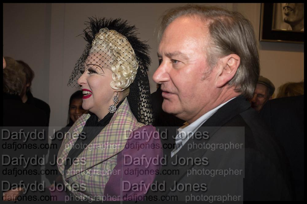 PINKIETESSA; JAMES BIRCH, Nina Fowler works curated by James Birch, The launch of Dadiani Fine Art, 30 Cork St. London.  24 November 2014