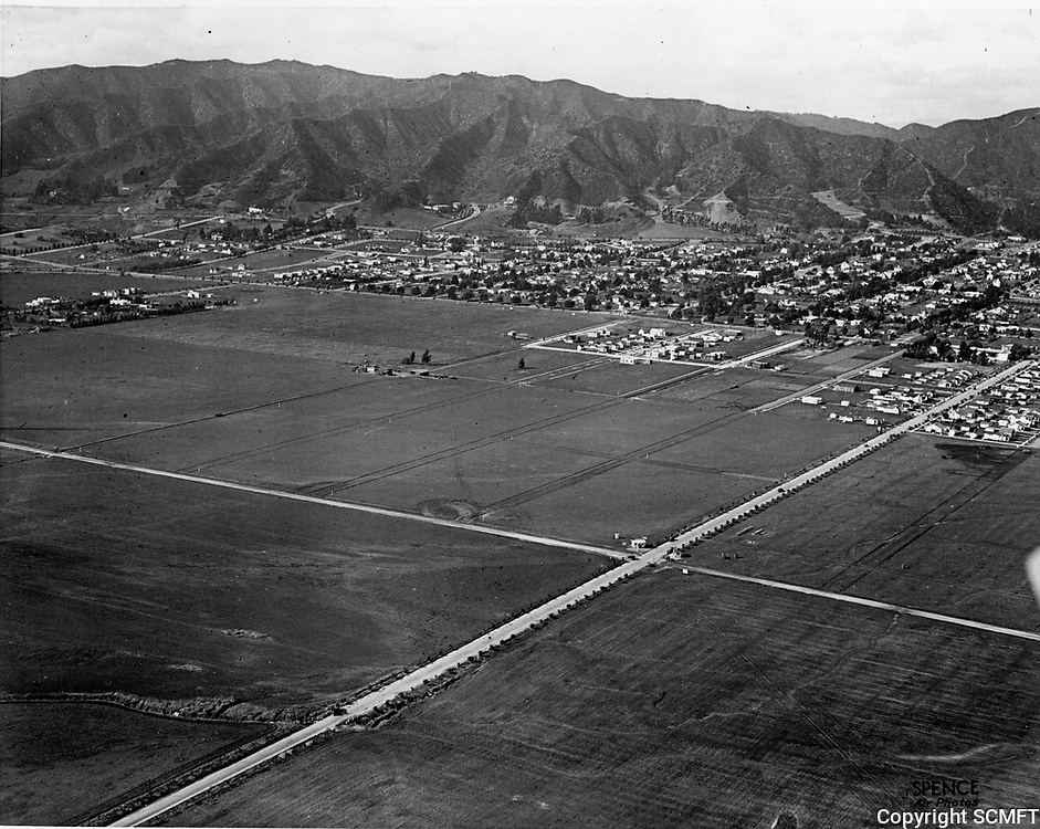 1922 Looking NW at the intersection of Melrose Ave. and Fairfax Blvd.