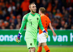 March 24, 2019 - Amsterdam, France - Netherlands' Jasper Cillessen reacts after conceding their third goal scored by Germany's Nico Schulz (Credit Image: © Panoramic via ZUMA Press)