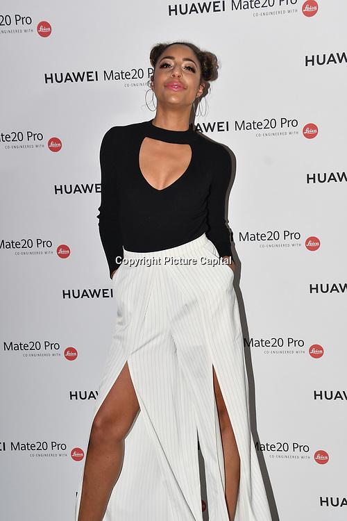 Su-Elise attend Huawei - VIP celebration at One Marylebone London, UK. 16 October 2018.