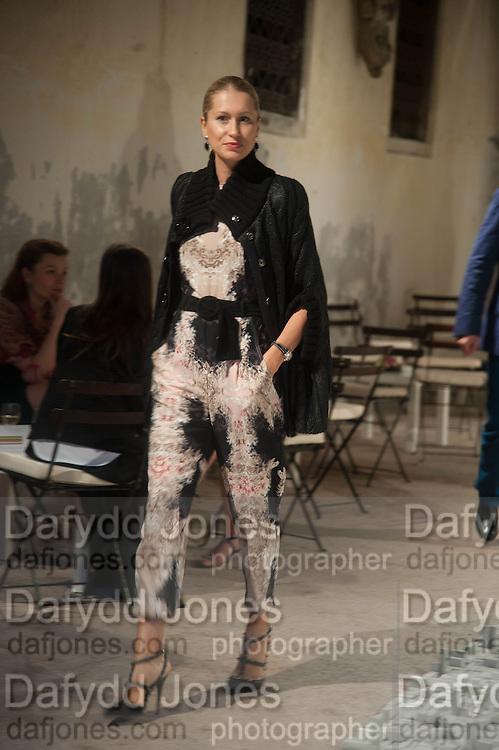 GORYANOVA EVEGENIA, preview of Pinchuk Foundation's Future Generation Art Prize,     Palazzo Contarini PolignacVenice. Venice Bienalle. Thursday 30 May).