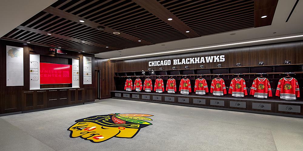 Chicago Bulls-Blackhawks   Chicago, IL