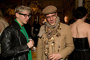 GARD CARG; JUDY BLAME, Kate Grand hosts a Love Tea and Treasure hunt at Flash. Royal Academy. Burlington Gardens. London. 10 december 2008 *** Local Caption *** -DO NOT ARCHIVE-© Copyright Photograph by Dafydd Jones. 248 Clapham Rd. London SW9 0PZ. Tel 0207 820 0771. www.dafjones.com.<br /> GARD CARG; JUDY BLAME, Kate Grand hosts a Love Tea and Treasure hunt at Flash. Royal Academy. Burlington Gardens. London. 10 december 2008
