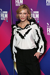 Cate Blanchett arrives for LFF Connects, as part of the BFI London Film Festival, at the XXXX in London.