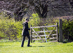 Princess Anne watches her daughter Zara at the Land Rover Gatcombe Horse Trials, on Gatcombe Park, Gloucestershire.