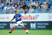 Fotball , Eliteserien<br /> 11.06.2021 , 20210611<br /> Vålerenga - Lillestrøm<br /> Osame Sahraoui - Vålerenga<br /> Foto: Sjur Stølen / Digitalsport