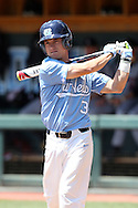 07 May 2016: North Carolina's Elijah Sutherland. The University of North Carolina Tar Heels played the University of Louisville Cardinals in an NCAA Division I Men's baseball game at Boshamer Stadium in Chapel Hill, North Carolina.