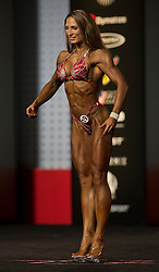 Sept.16, 2016 - Las Vegas, Nevada, U.S. -  ADELA ONDREJOVICOVA competes in the Figure Olympia contest during Joe Weider's Olympia Fitness and Performance Weekend.(Credit Image: © Brian Cahn via ZUMA Wire)