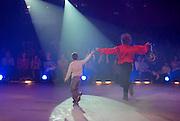 Bellucci Circus performed in Tel Aviv, Israel in April