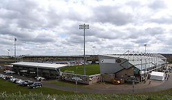 Sixfields Stadium, home of Northampton Town - Mandatory by-line: Robbie Stephenson/JMP - 09/04/2016 - FOOTBALL - Sixfields Stadium - Northampton, England - Northampton Town v Bristol Rovers - Sky Bet League Two