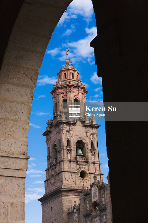 Morelia cathedral, Morelia, Mexico