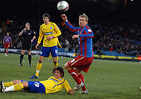 Fotball<br /> England<br /> Foto: Colorsport/Digitalsport<br /> NORWAY ONLY<br /> <br /> 03.01.2010<br /> Football - Crystal Palace v Preston North End  03/01/2011 Steffen Iversen (Palace) playing in his debut game