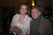 Caroline Michel and Kasmin. Everyman's Centenary Party. The Fine Rooms. Royal Academy. London. 15 February 2006. dddONE TIME USE ONLY - DO NOT ARCHIVE  © Copyright Photograph by Dafydd Jones 66 Stockwell Park Rd. London SW9 0DA Tel 020 7733 0108 www.dafjones.com