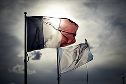 June 5, 2017 - Paris, France, France - Illustration Drapeau France et Paris2024 (Credit Image: © Panoramic via ZUMA Press)