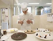 Bergamo, Da Vittorio Restaurant, Vittorio the youngest in the family and in the kitchen