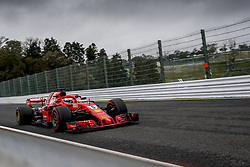 October 6, 2018 - Suzuka, Japan - Motorsports: FIA Formula One World Championship 2018, Grand Prix of Japan, .World Championship 2018 Grand Prix Japan , #5 Sebastian Vettel (GER, Scuderia Ferrari) (Credit Image: © Hoch Zwei via ZUMA Wire)