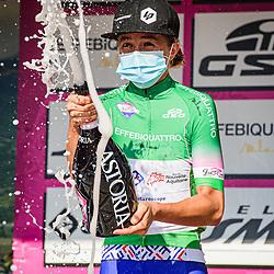 19-09-2020: Wielrennen: Giro Rosa: Motta Montecorvino<br /> LUDWIG Cecilie Uttrup ( DEN ) – FDJ NOUVELLE - AQUITAINE FUTUROSCOPE ( FDJ ) - FRA – Green Jersey - Best Climber