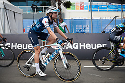 Tayler Wiles (USA) makes her way to the start line at Deakin University Elite Women Cadel Evans Road Race 2019, a 113 km road race starting and finishing in Geelong, Australia on January 26, 2019. Photo by Sean Robinson/velofocus.com