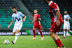 Miha Blazic of Slovenia during the UEFA Nations League C Group 3 match between Slovenia and Moldova at Stadion Stozice, on September 6th, 2020. Photo by Grega Valancic / Sportida