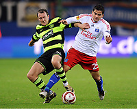 v.l. Aiden McGeady , Tomas Rincon HSV<br /> Europa League Hamburger SV - Celtic Glasgow<br /> <br /> Norway