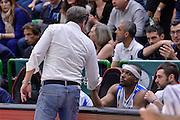 DESCRIZIONE : Beko Legabasket Serie A 2015- 2016 Playoff Quarti di Finale Gara3 Dinamo Banco di Sardegna Sassari - Grissin Bon Reggio Emilia<br /> GIOCATORE : Federico Pasquini Josh Akognon<br /> CATEGORIA : Fair Play Ritratto Delusione<br /> SQUADRA : Dinamo Banco di Sardegna Sassari<br /> EVENTO : Beko Legabasket Serie A 2015-2016 Playoff<br /> GARA : Quarti di Finale Gara3 Dinamo Banco di Sardegna Sassari - Grissin Bon Reggio Emilia<br /> DATA : 11/05/2016<br /> SPORT : Pallacanestro <br /> AUTORE : Agenzia Ciamillo-Castoria/L.Canu