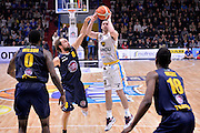Matt Carlino<br /> Vanoli Cremona - Fiat Auxilium Torino<br /> Lega Basket Serie A 2016/2017<br /> Cremona, 12/02/2017<br /> Foto Ciamillo-Castoria
