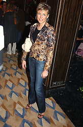 LADY ALEXANDRA SPENCER-CHURCHILL at a party to celebrate the re-launch of the Polo bar at The Westbury Hotel, Bond Street, London W1 on 26th April 2005.<br /><br />NON EXCLUSIVE - WORLD RIGHTS