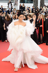 May 21, 2019 - WORLD RIGHTS.Cannes, France, 20.05.2019, 72th Cannes Film Festival in Cannes. The 72th edition of the film festival will run from May 14 to May 25. .Red carpet ''Le Belle Epoque''.NZ. Aishwarya Rai .Fot. Radoslaw Nawrocki/FORUM (FRANCE - Tags: ENTERTAINMENT; RED CARPET) (Credit Image: © FORUM via ZUMA Press)