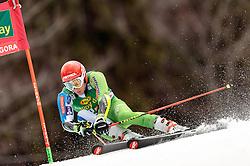 04.03.2017, Podkoren, Kranjska Gora, SLO, FIS Weltcup Ski Alpin, Kranjska Gora, Riesenslalom, Herren, 1. Lauf, im Bild Zan Kranjec (SLO) // Zan Kranjec of Slovenia in action during his 1st run of men's Giant Slalom of FIS ski alpine world cup at the Podkoren in Kranjska Gora, Slovenia on 2017/03/04. EXPA Pictures © 2017, PhotoCredit: EXPA/ Johann Groder