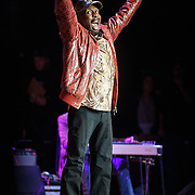 """COLUMBIA, MD - May 14, 2015 - Jimmy Cliff performs his classic song """"The Harder The Come"""" during the Dear Jerry: Celebrating the Music of Jerry Garcia concert at Merriweather Post Pavilion in Columbia, MD. (Photo by Kyle Gustafson / For The Washington Post)"""